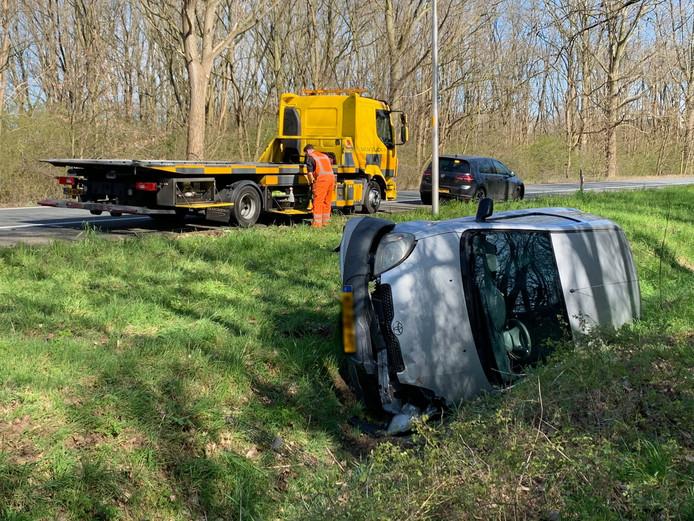 Ongeval A59 Utrecht afslag Den Bosch West