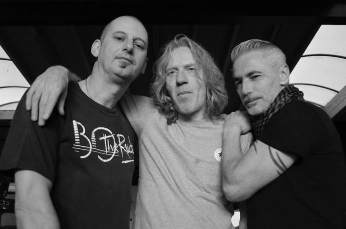 Bo The Rude anno 2018 (vlnr): Robert Smissaert, Ruud Borgers en Erik Rooseboom.