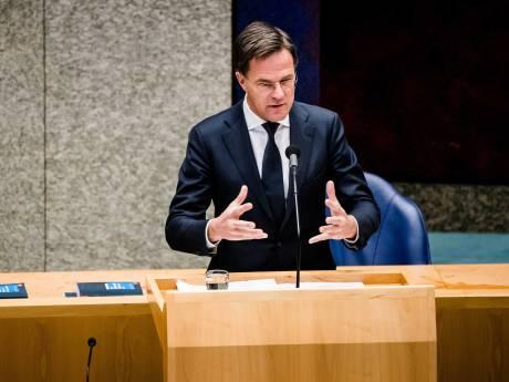 LIVE | Rutte: 'We kunnen elkaar misschien heel lang niet meer in de armen vallen'