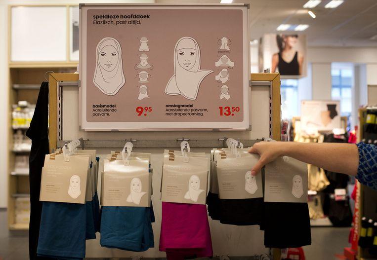 De hoofddoeken van HEMA Beeld ANP