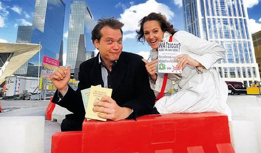 Mark Verpoorten en Astrid Stiel.