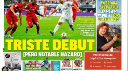 "Spaanse media lovend over Hazard: ""Alles verandert met hem"""