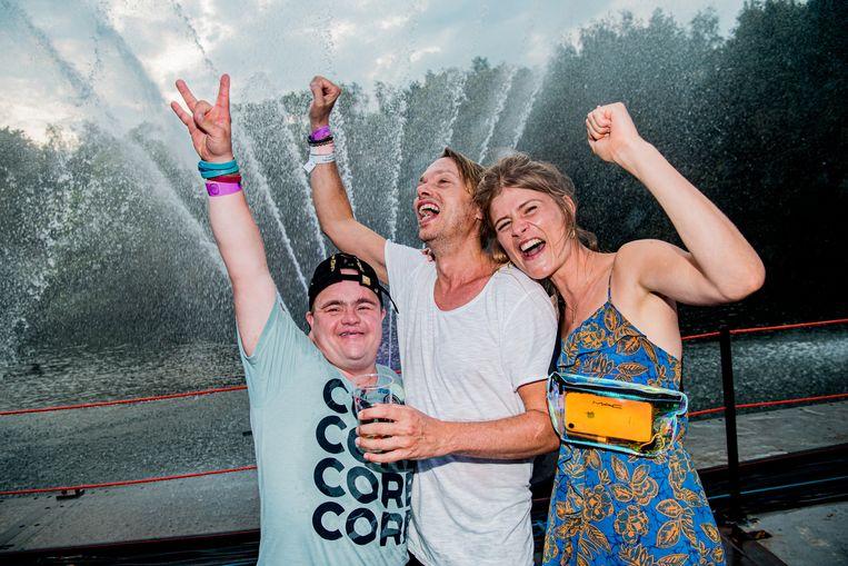 Maarten, Regi en Eva De Roo