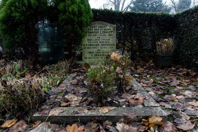 Het graf van Hermanus Cornelis Cruijff op begraafplaats De Nieuwe Ooster.