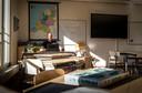 """Leerkracht Paul Rentmeester mist het contact met de leerlingen in zijn klas. """"Het onderwijs is zoveel meer dan je in een videogesprekje kunt stoppen."""""""