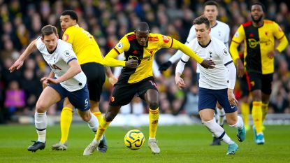 Watford en Tottenham komen niet tot scoren na penaltymisser Deeney en hands Vertonghen