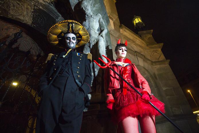 Halloween parade in Arnhem.