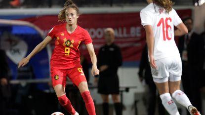 Op jacht naar een ticket voor WK-barragefinale moeten de Red Flames in Zwitserland scoren