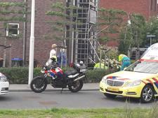 Schilder valt van steiger in Utrecht