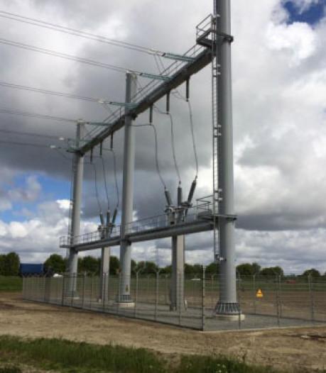 Pijnpunt Mast 20 uit 150kV-tracé tussen Geertruidenberg en Waalwijk