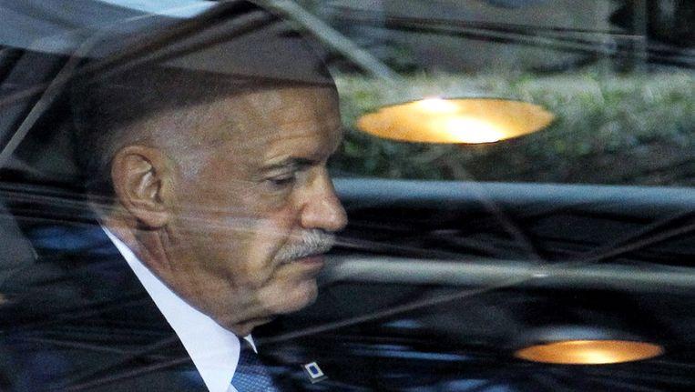 De Griekse premier Papandreou arriveert bij de Europese top in Brussel Beeld reuters