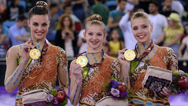 Ook in Bakoe waren Van Schoor, Dumarey en Van Gelder al goed voor goud