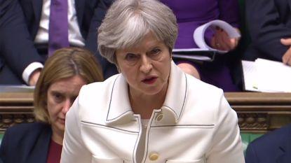 """May: """"Brits nationaal belang, en niet Trump, leidden Londen tot aanvallen op Syrië"""""""