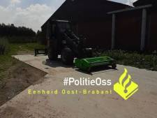 Loader en maaier gestolen in Lithoijen