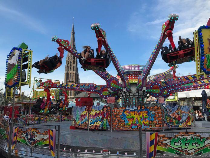 De Jumper Jumper vorig jaar bij de kermis in Veghel.