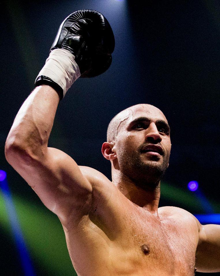 K1-vechter Badr Hari. Beeld anp