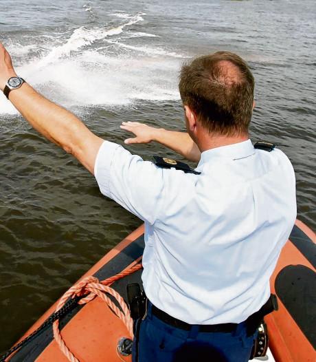 Waterpolitie: meeste boetes in Dordrecht en Werkendam
