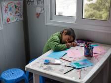 Kinderen op de vlucht gaan nauwelijks naar school