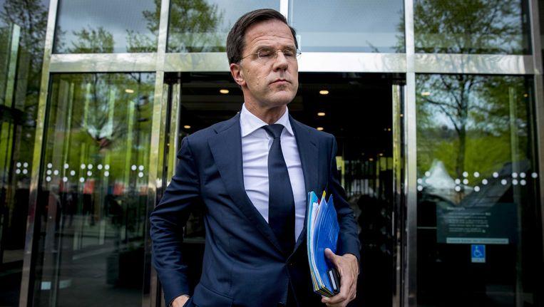Mark Rutte Beeld ANP