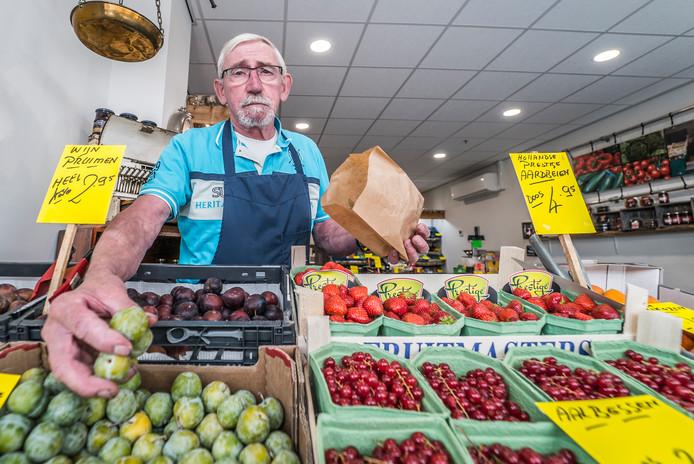 Frans Speetjens, groenteman in Zoetermeer stopt ermee