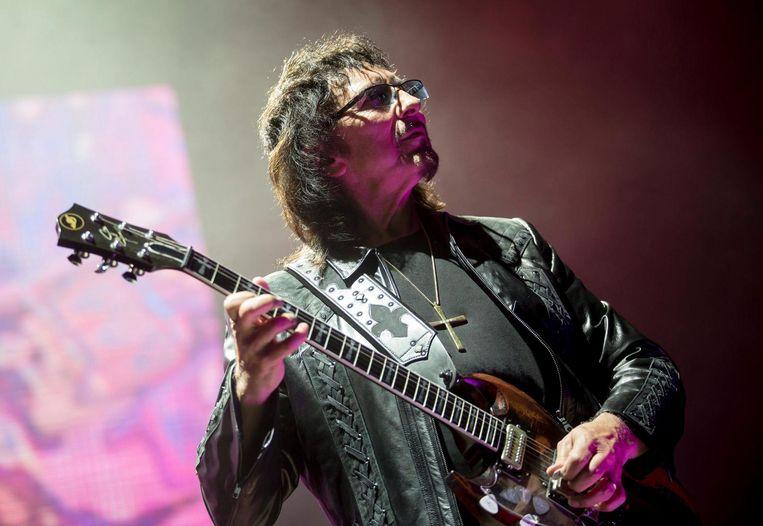 Gitarist Tony Iommi Beeld epa