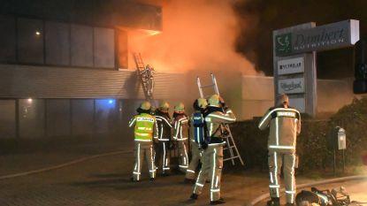 Video: Brand zorgt voor ravage bij voedingsbedrijf Damhert