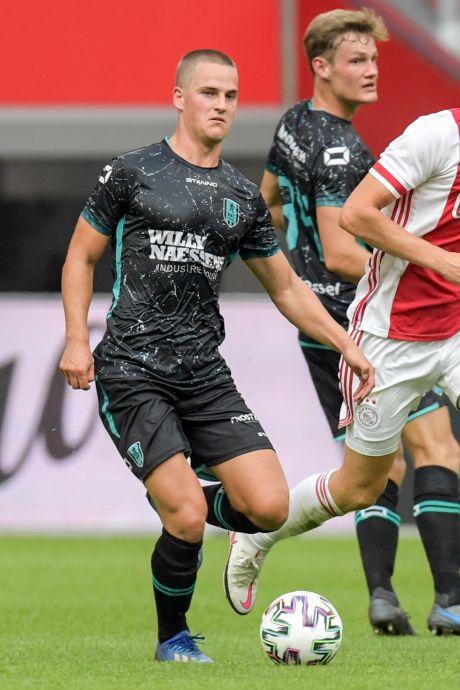 Ook na ruim verlies blijft RKC'er Augustijns glunderen: 'Super ervaring'