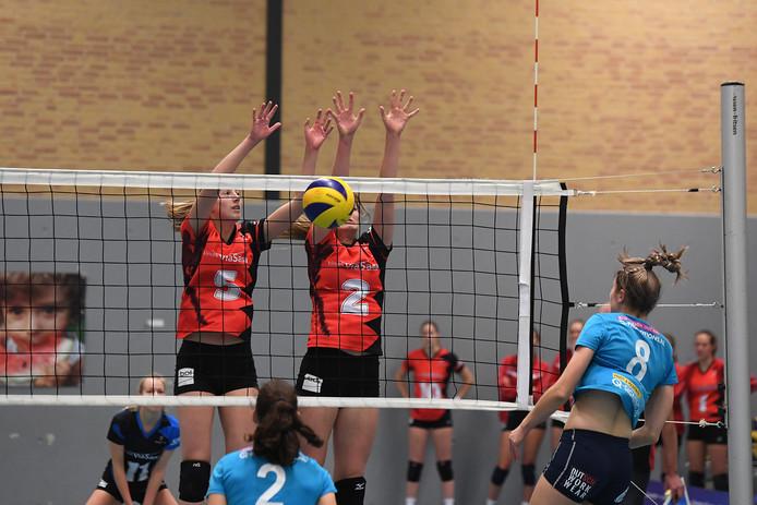 De volleybalsters van Activia op archiefbeeld.