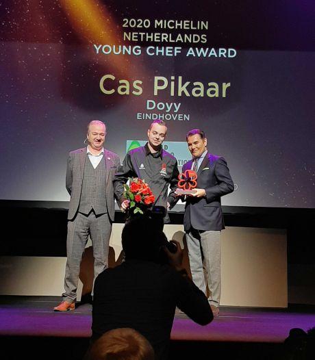 Cas Pikaar (23) van Doyy is volgens Michelin de sterrenkok van de toekomst