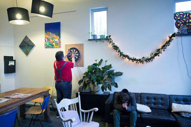Een opvanghuis voor psychiatrische patiënten in Utrecht.  Beeld Werry Crone