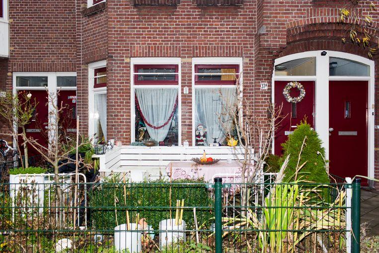 Een huis in de Vogelbuurt, Amsterdam-Noord. Beeld RV