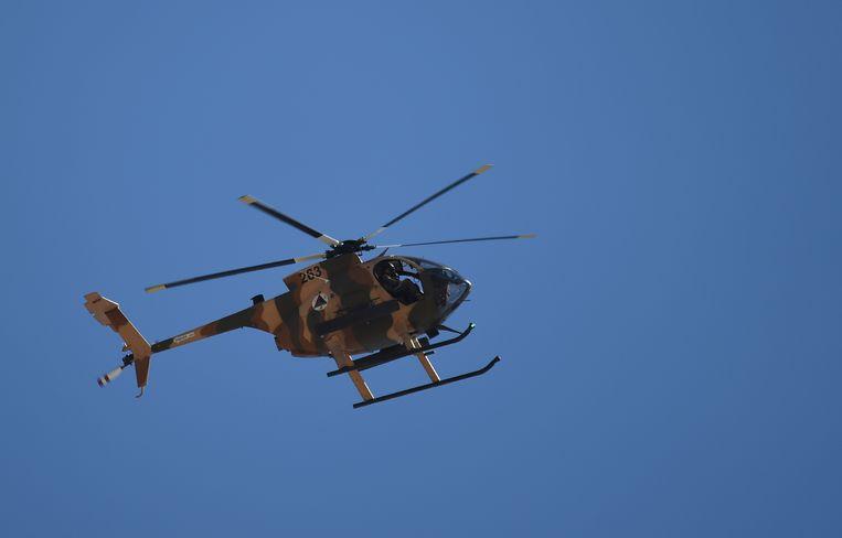 Archiefbeeld van een Afghaanse legerhelikopter