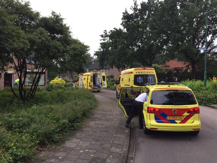 Het ongeluk gebeurde in een woning aan de Europalaan in Nuenen