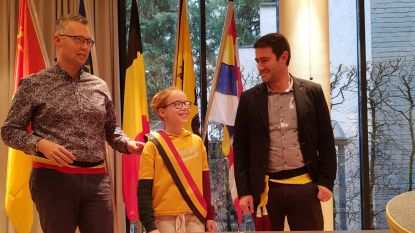 Janne Caeyers  - dochter van - is nieuwe kinderburgemeester in Mol