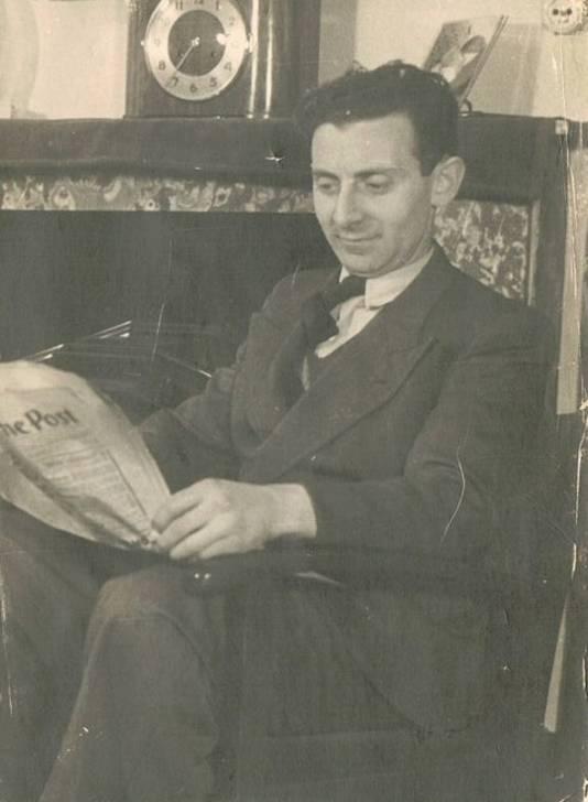 Rudolph Halmans, de vader van Henny, bindt drie generaties Kamlag met oorlogsherinneringen.