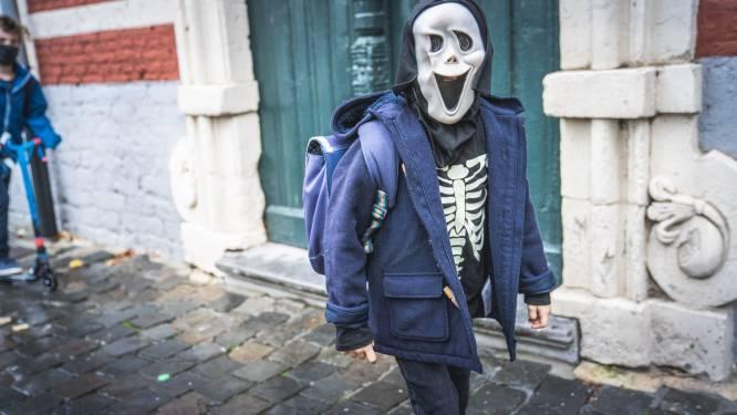 Halloween: mooie monstertjes gesignaleerd op voorlopig laatste schooldag