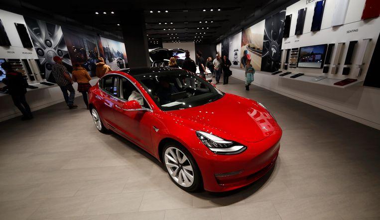 Tesla Model 3 in Denver.