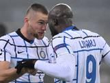 Inter blijft in leven na meeslepend voetbalgevecht in Duitsland