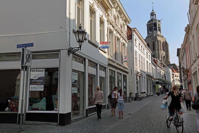 Leegstand in 't Vierkantje in Bergen op Zoom