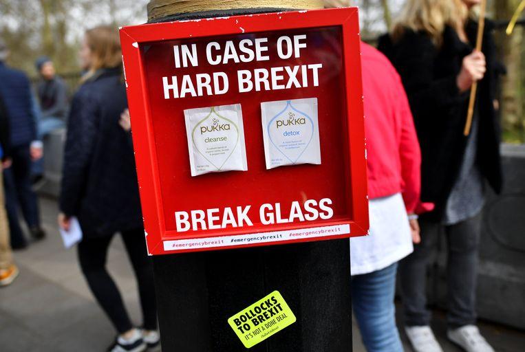 Niet blij met Brexit Beeld REUTERS