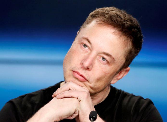 SpaceX-oprichter Elon Musk, archiefbeeld. De Chinese draagraket zal lijken op de Falcon 9-raket van het Amerikaanse ruimtevaartbedrijf.