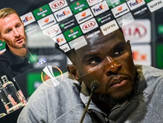 """Michael Ngadeu gelooft nog in het Europese kansje van AA Gent: """"Zolang het kan, gaan we ervoor"""""""