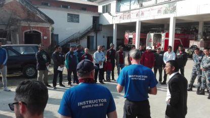 Firefighters4Nepal starten met opleiding Nepalese collega's