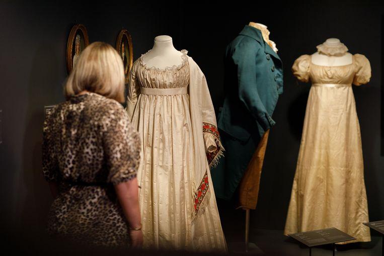 De voorstelling Slow Fashion in het Dordrechts Museum. Beeld Bram Vreugdenhil