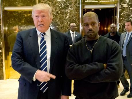 Kanye West: Het is lastig om niet van Donald Trump te houden