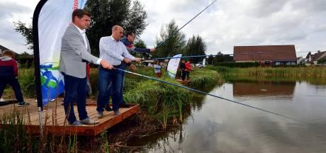 Retentievijver in Gagelrijzen is pareltje onder de sportvissers