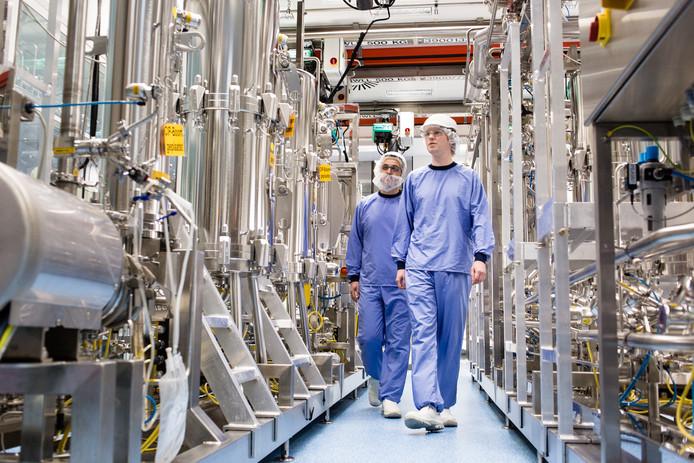 Een biotech-installatie van MSD in Oss.