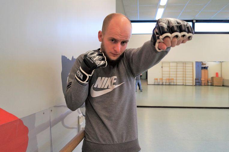 Aaron Vanseveren richt een MMA-club op in Tielt.