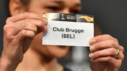 Club Brugge loot in zestiende finales Europa League Salzburg, Genk ontmoet Slavia Praag