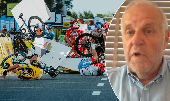 Sportadvocaat Maeschalck over de zware valpartij en de klacht van Patrick Lefevere.